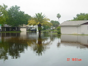 Water keeps dangerously close to homes in Georgtowne Daytona Beach Subdivision