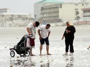 Bottle washes up on Daytona Beach