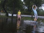 Yard Surfing in Daytona Beach - 2