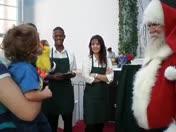 Colton and Santa Claus 2008