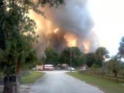 528 & 95 Brush Fire Near Homes