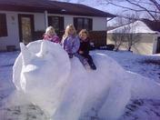 Snow Dino