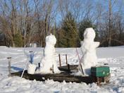 Fishing Snowpeople