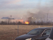 fire burning on the dance floor at Epic Dance Studio!