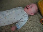 laughing baby Kasen