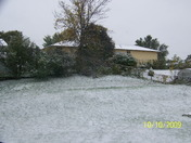 First snowfall of 2009