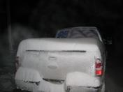 snow on truck Indianola