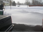 Driveway on morning of 12/09/09