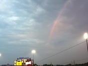 Rainbow at the ball game