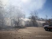 Fire in Gabilan Creek Park