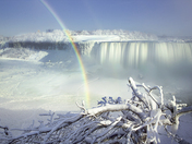 Ice, Mist and Rainbow