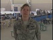 Air Force Maj. Carol Yeager