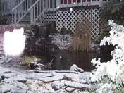 Snow around Casey's Pond