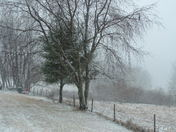 snowing in Hillsville, Va