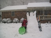snow day in todd,n.c.