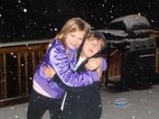 Enjoying tonights snowfall