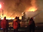 Wilkes Bowling Alley fire