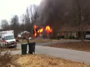 House on fire in Walkertown area.