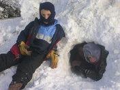 Snow Pile Igloo