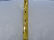 sandy ridge n,c snow fall