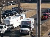 bomb threat @ st Anthony hospital