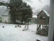 Its snowing again in Cooleemee