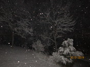 Snowfall in Cold Spring KY