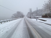 US 52 one mile from Higginport, Ohio in Brown County . Pic of Ohio River too. Se