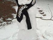 Granddaughter's Steelers Snowman