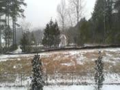 Snow faliing in Seneca,sc