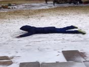 Snow Angels in Franklinton