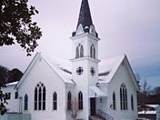 United Methodist Church in snow.. 01/28/14