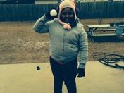 Girah Steptoe SNOW!!