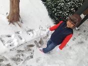 Ethan snow day 2014