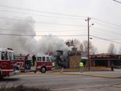 Upstate restaurant fire