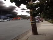 Rv fire Monterey