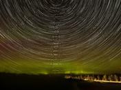 Aurora and Star Trails
