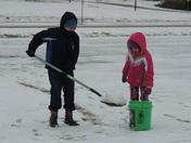Having fun @ snow.....NO school..