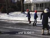 Snow Day Fun in Greenville, S.C.