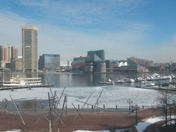 Inner Harbor Frozen