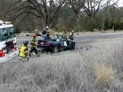 Head On Crash - Lotus Road Placerville