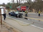 Head On Crash - Lotus Road Placerville