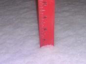 Snow fall in Adams County