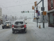 Conditions in Connellsville, PA..711 onto Crawford Ave (Main Street heading down