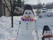 Broken Snowman by Gabriella
