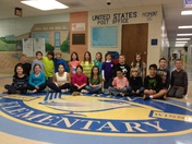 Mrs. Brock's Fourth Grade Class at Wren Elementary