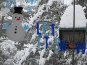 Snowfall in Wenham
