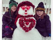 Val the Valentine's Snowgirl