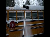 Clearing the bus roff..yes school will be open!
