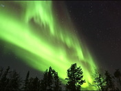 northern light at chrismas eve